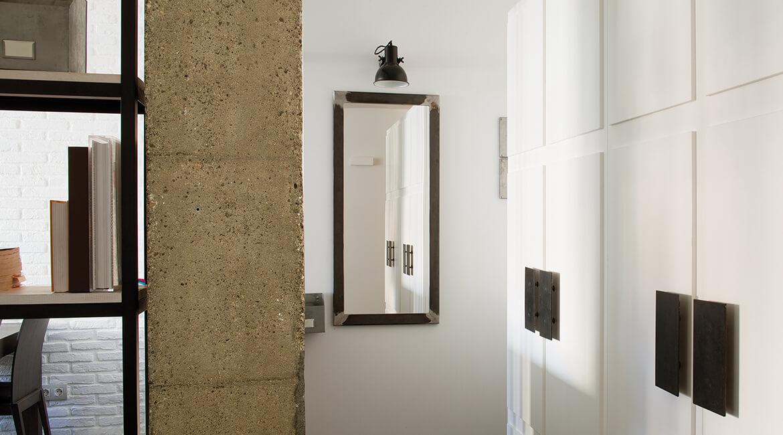 Catalina House interiorísmo casa Mitre. Separación de espacios