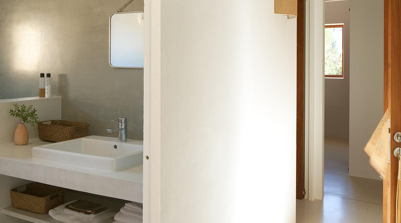proyecto de interiorísmo Catalina House para casa Pep Lluqui. Baño