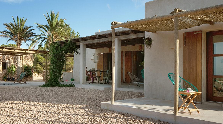 proyecto de interiorísmo Catalina House para casa Pep Lluqui. Exterior