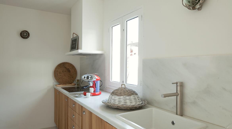 Catalina House interiorismo Casa Ses Roques Vilaro. Cocina