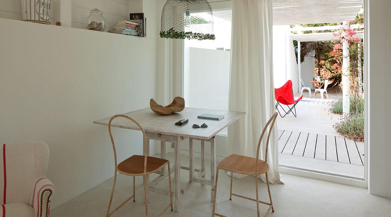 Catalina House interiorismo Casa Ses Roques Vilaro. Comedor