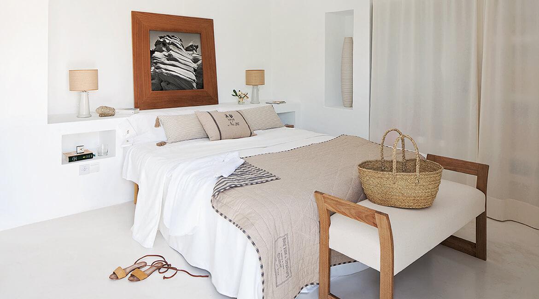 Catalina House proyecto de interiorísmo Casa Punta Prima Grau. Dormitorio