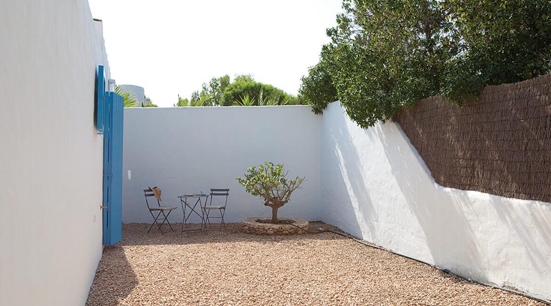 Catalina House proyecto de interiorísmo Casa Punta Prima Grau. Terraza