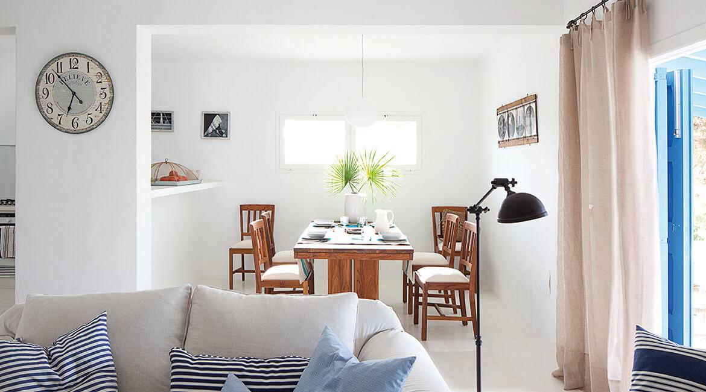Catalina House proyecto de interiorísmo Casa Punta Prima Grau. Salón
