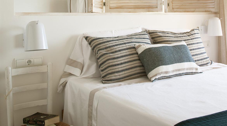 proyecto de interiorísmo Catalina House para apartamento Savina Blasi. Dormitorio