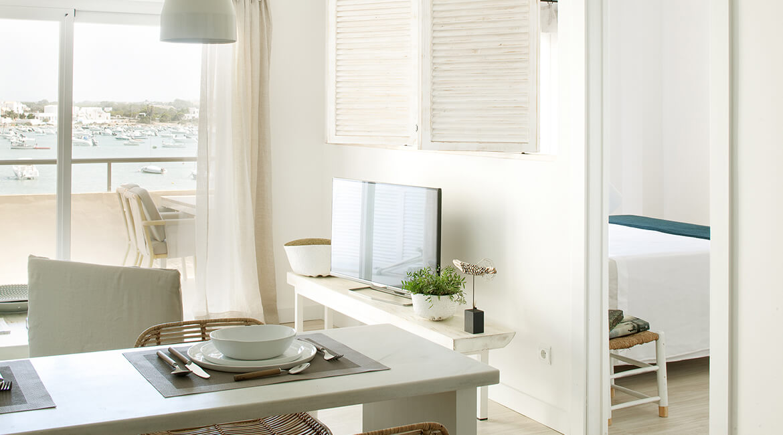 proyecto de interiorísmo Catalina House para apartamento Savina Blasi. Salón