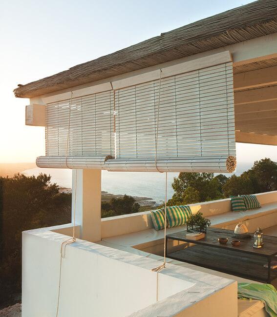 persianas porche interiorísmo casa la mola formentera